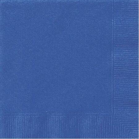 Mörkblå engångsduk. Avtorkningsbar och tålig. Mått 8m x 1,2m
