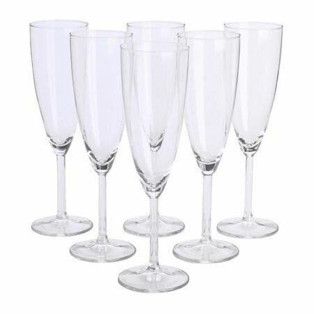 Champagneglas 19 cl. Höjd 22 cm.