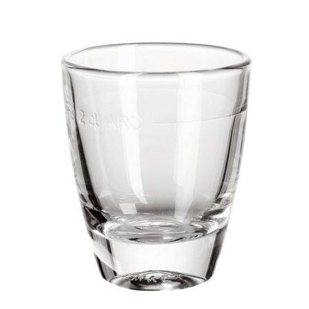 Shotglas Stamper Gin. Max 3,5 cl.